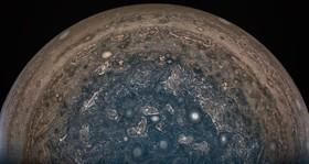 عکسی که ناسا از سیاره ژوپیتر مننتشر کرده است