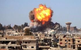 انفجار یک خودرو بمب گذاری شده در درعا سوریه