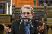 لاریجانی به کاندیداهای انتخابات: بخاطر انقلاب از سیاهنمایی پرهیز کنید/انقلابی واقعی باید وفاق ملی را پیگیری کند/آمریکا می خواهد با طرح قلابی قرن مسلمانان را تحقیر کند