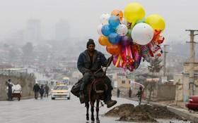 فروشنده دوره گرد افغان