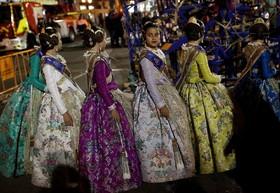 مراسم جشن لا فالاس در والنسیای اسپانیا