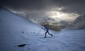مسابقات اسکی استقامت کوهستان با عنوان لوفوتن اسکیمو در نروژ