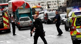 چهره عامل حمله تروریستی دیشب لندن + عکس