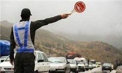 برخورد پلیس با بدحجابی در جاده کرج- چالوس