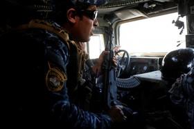 خط مقدم جنگ با داعش در موصل