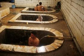 حمام علی محل آب درمانی عراقی ها در حومه موصل