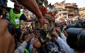 جشن بیسکت جاترا در نپال