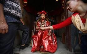 یک مراسم مذهبی در نپال