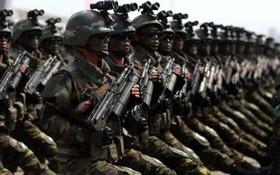 رژه نیروهای ویژه در کره شمالی