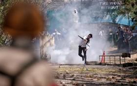 تظاهرات در سرینگر مرکز کشمیر هند