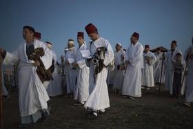 مراسم مذهبی سامری ها در نوار غزه