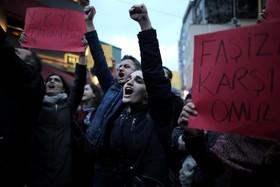 تظاهرات علیه دولت اردوغان در استانبول ترکیه
