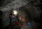 (تصاویر) محل حمله آمریکا با بزرگترین بمب غیر اتمی در افغانستان