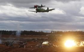 نمایش نبرد سقوط برلین در کابینکا در روسیه