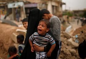 آوارگان عراقی در حومه موصل و ادامه جنگ با داعش