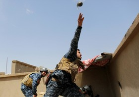 جگ با  داعش در عراق