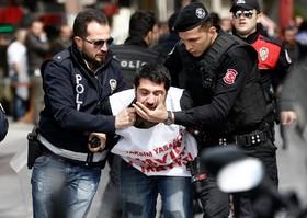 روز جهانی کارگر در استانبول ترکیه