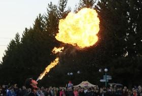 مراسم جشن در کراسنویورسک روسیه