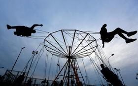 چرخ و فلک در اسکوپیه در مغدونیه