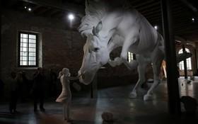 اثری در بینیال هنری ونیز در ایتالیا