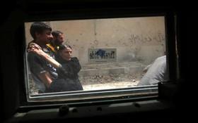 خانواده آواره عراقی در موصل