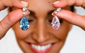 حراج الماس آب و صورتی در حراج سوتبی به ارزش 12 تا 18 میلیارد دلار