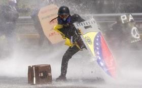 تظاهرات علیه دولت مادور در ونزوئلا در کاراکاس