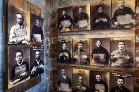 موزه عدالت و عکس های متهمین و زندانیان در دوره ویکتوریا