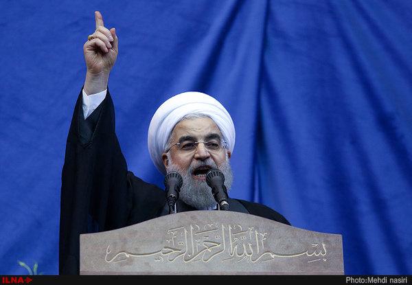 سخنان روحانی در لرستان: می دانم چگونه مشکلات کشور را حل کنم