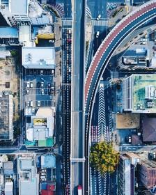 خیابانی در ناگویای ژاپن
