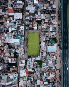 منطقه مسکونی در بوئینس آیرس در آرژانتین