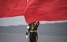 گارد احترام در چین برای نخست وزیرلوکزامبورگ