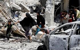 فرار ساکنان موصل از دست داعش