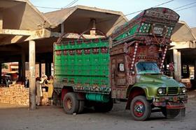هنر روی کامیون های رانندگان پاکستانی
