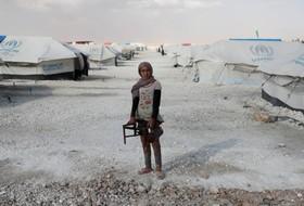 اردوگاه آوارگان سوری در عین عیسی