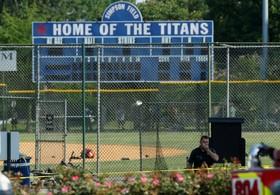 صحنه تیراندازی به اعضای تیم بیس بال کنگره آمریکا در ویرجینیا