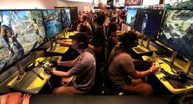 نمایشگاه بازی های رایانه ای در لوس آنجلیس در آمریکا