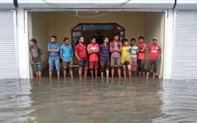 بارندگی های سیل آسا در هند