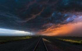 توفان در نبراسکای آمریکا