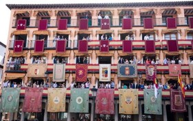 یک مراسم مذهبی در تولدو اسپانیا