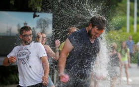 جنگ آب همزمان با گرمای هوا در اسلونی