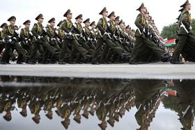رژه روز استقلال بلاروس در مینسک
