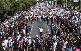 راهپیمایی گروه مخالف دولت در ترکیه