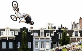 مسابقه ورزش های شهری در آمستردام در هلند