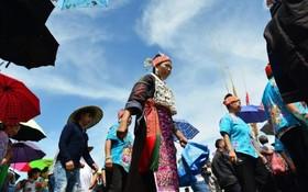 مراسم دعای باران در منطقه گیزو در چین