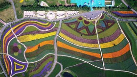 مزرعه ای در هاربین در چین