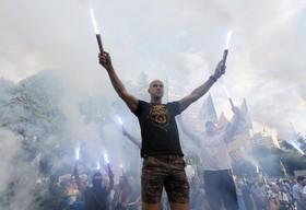 تظاهرات علیه فساد در اکراین
