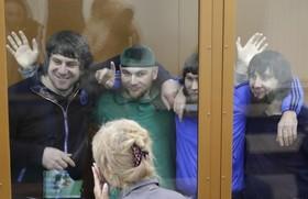 دادگاه نظامی روسیه در مسکو اتهامات چهار نفر را در دست داشتن در قتل بوریس نمتسوف بررسی و آنان محکوم به زندان کرد