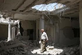 خانه ای در درعا در سوریه