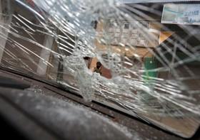 صحنه درگیری مسلحانه پلیس هند با گروه مسلح مخالف دولت در کشمیر